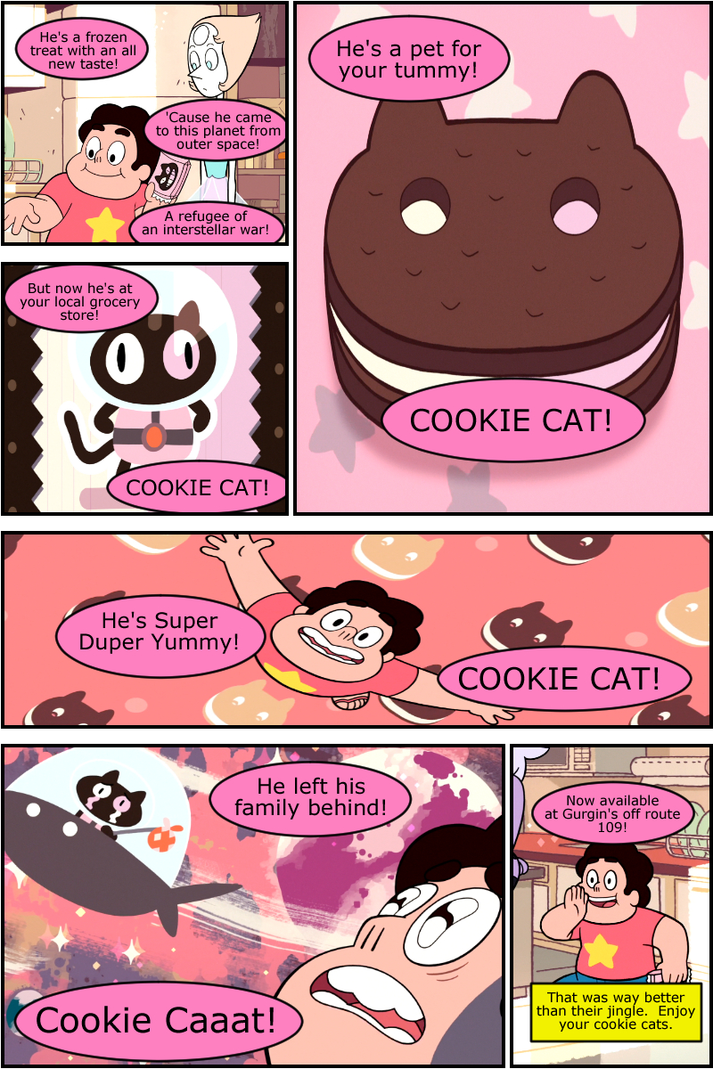 Cookie Cat!