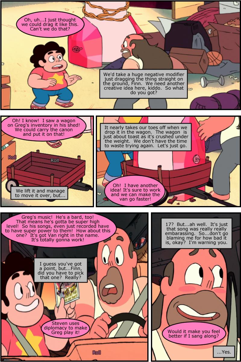 Steven uses diplomacy!